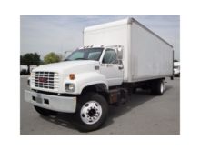 2002 GMC C7HO42 BOX TRUCK - STR