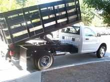 2015 RAM 3500 FLATBED DUMP