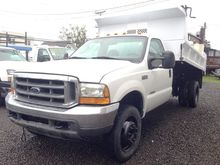 2004 FORD F450 Contractor truck