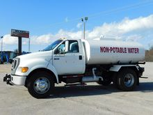 2006 FORD F650 WATER TRUCK