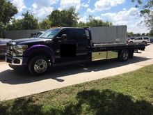 2014 FORD F550 WRECKER TOW TRUC
