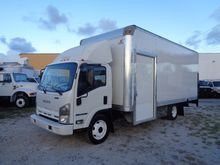 2009 ISUZU NPR HD BOX TRUCK - S