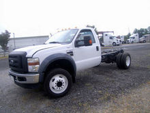 2010 FORD F450 SUPER DUTY TRACT