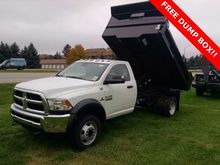 2016 RAM 5500HD CAB CHASSIS