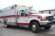 2000 FORD F550 FIRE TRUCK