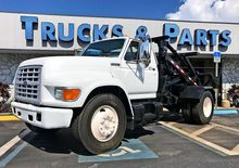 1997 FORD F650 CAB CHASSIS