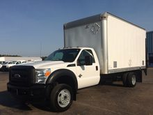 2011 FORD F-550 BOX TRUCK - STR