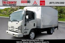 2011 ISUZU TILT CAB BOX TRUCK -