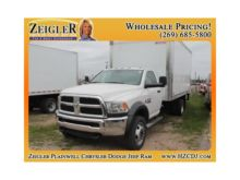 2017 RAM 4500 Box Truck Box tru