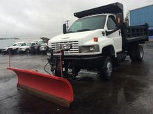 2007 GMC C5500 CAB CHASSIS