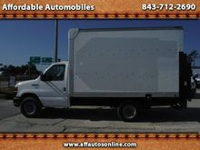 2011 FORD E-350 SUPER BOX TRUCK