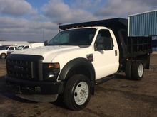 2008 FORD F-450 CAB CHASSIS