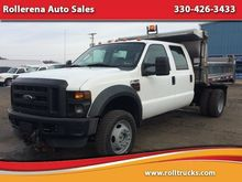 2008 FORD F-550 CAB CHASSIS