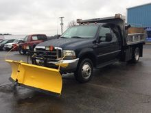 2002 FORD F-550 CAB CHASSIS