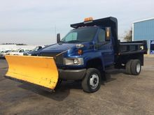 2005 GMC C5500 CAB CHASSIS