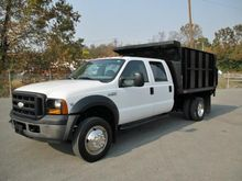 2006 FORD F450 XL SD DUMP TRUCK