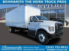 2017 FORD F-650 BOX TRUCK - STR