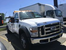 2009 FORD F550 WRECKER TOW TRUC