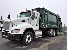 2013 KENWORTH T440 GARBAGE TRUC