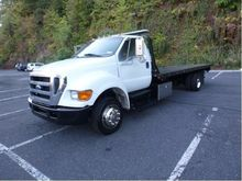 2007 FORD F650 CAR CARRIER