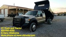 2012 FORD F-550 CHASSIS DUMP TR