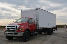 2009 FORD F-750 SD 24FT BOX TRU