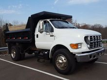 2000 FORD F-650SD CAB CHASSIS