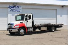 2013 HINO 338 ROLLBACK TOW TRUC