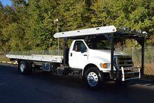 2013 FORD F750 Rollback tow tru