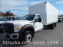 2013 FORD F550 BOX TRUCK - STRA