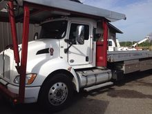 2013 KENWORTH T800 CAR CARRIER
