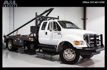 2013 FORD F-750 FLATBED TRUCK
