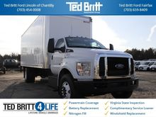2017 FORD F-750SD BOX TRUCK - S
