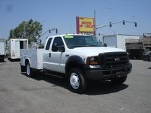 2007 FORD F550 XL SD BOX TRUCK