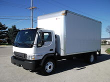 2006 FORD LCF BOX TRUCK, 16 FEE