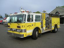 1986 PIERCE ARROW FIRE TRUCK