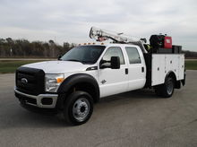 2012 FORD F550 XL CREW CAB, 22'