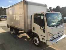2013 ISUZU NPR HD BOX TRUCK - S