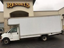 1997 CHEVROLET EXPRESS BOX TRUC