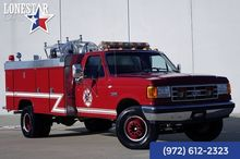 1990 Ford Fire Brush Truck 7.3l