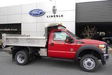2015 Ford F550 Dump truck