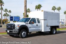 2016 FORD F550 CHIPPER TRUCK