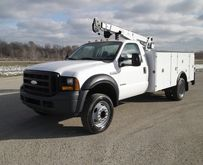 2007 FORD F550 Contractor truck