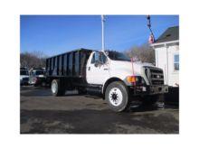 2005 FORD F750 Chipper truck
