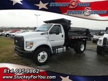 2017 FORD F750 Cab chassis