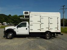 2006 FORD F550 REFRIGERATED TRU