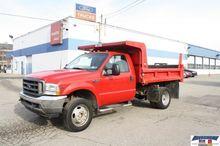 2003 Ford F450 Dump truck