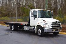 2012 HINO 268 ROLLBACK TOW TRUC