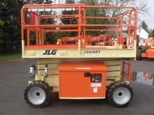 2004 JLG 260MRT Scissor lifts