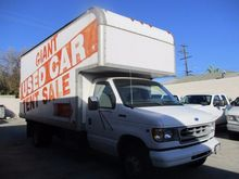 1997 Ford E 450 Box truck - str